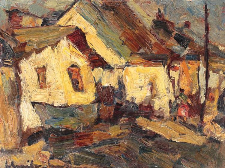 Fringe of Bucharest, 1940 - Rudolf Schweitzer-Cumpana