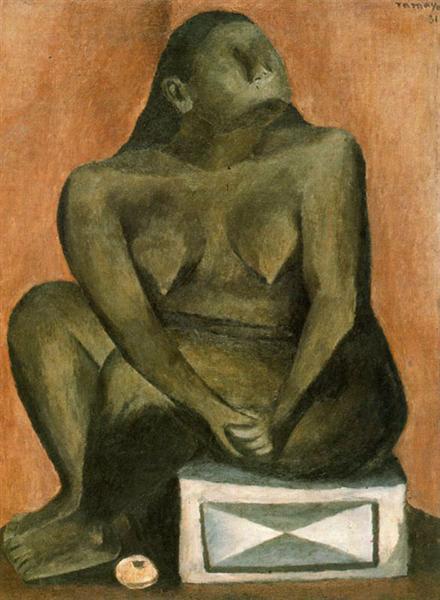 Mujer en gris, 1931 - Руфино Тамайо