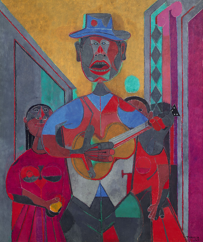 The troubadour rufino tamayo for Mural rufino tamayo