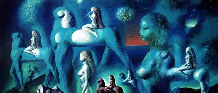Blue Spaces - Sabin Balasa