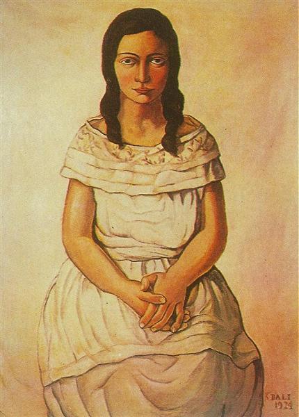 Ana Maria, 1924 - Salvador Dali