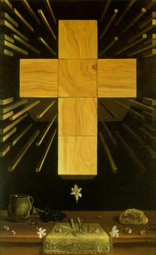 Arithmosophic Cross - Salvador Dali