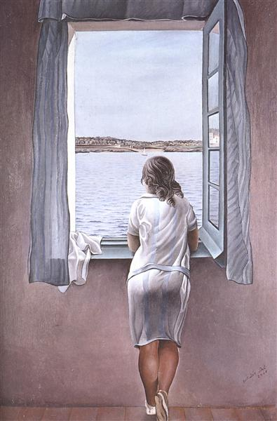 Figure at a Window, 1925 - Salvador Dalí
