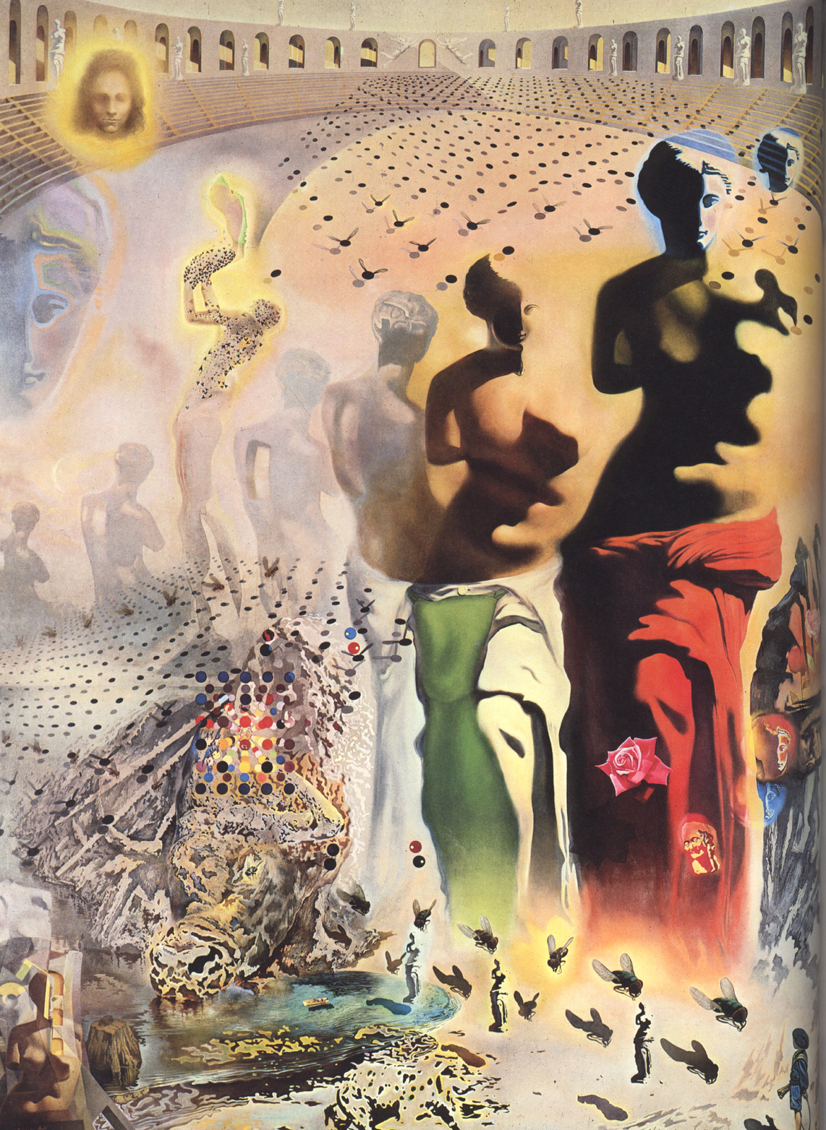 a visual analysis of the hallucinogenic toreador by salvador dali Salvador dali hallucinogenic toreador poster 11x17  de la mirella bruno visual acoustics & pattern pollinating visionist  salvador dali's crucifixion - analysis.
