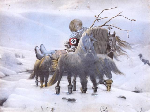Hitler Masturbating, 1973 - Salvador Dali