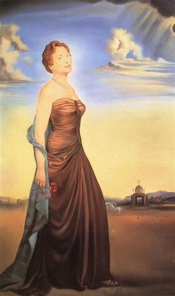Mme. Reese, c.1931 - Salvador Dali