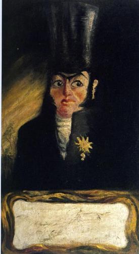 Portrait of El Sany Pancraci - Salvador Dali