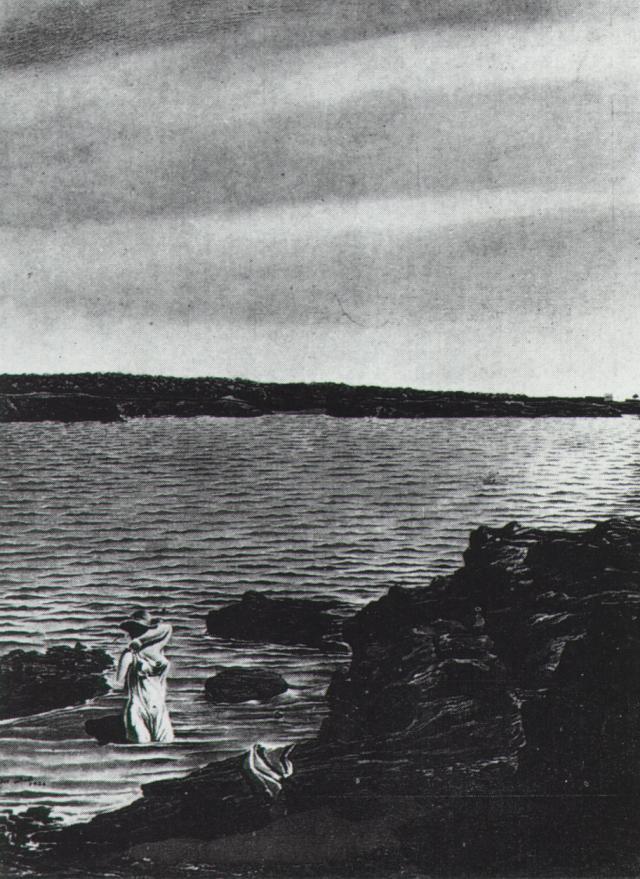 Rocks of Liane (first version), 1926