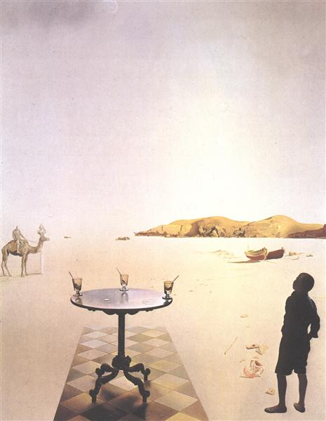 dali the disintegration of the persistence of memory