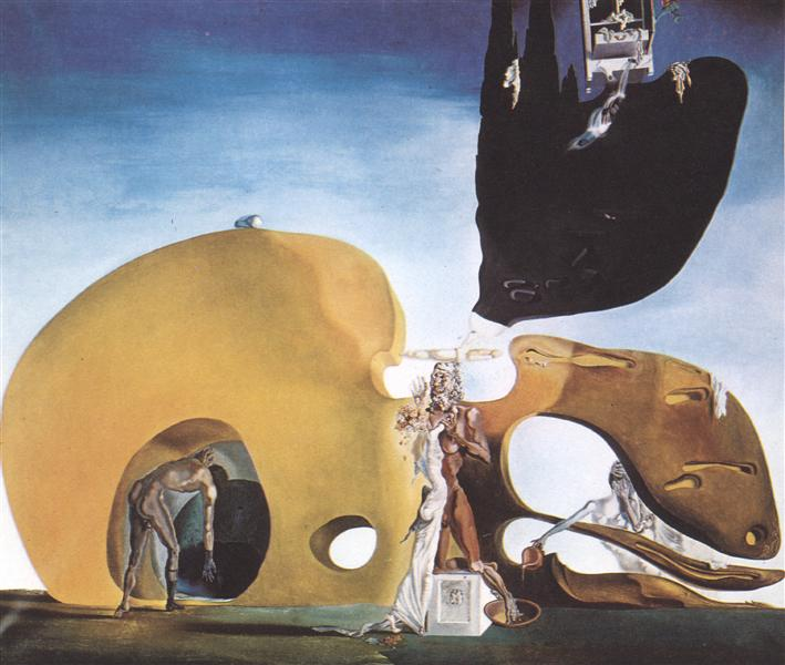 The Birth of Liquid Desires, 1932 - Salvador Dalí