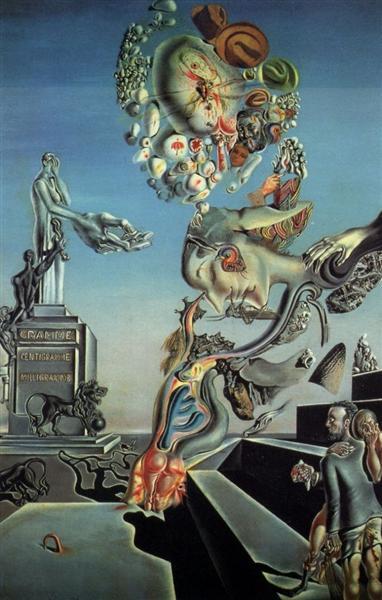 The Lugubrious Game - Salvador Dali