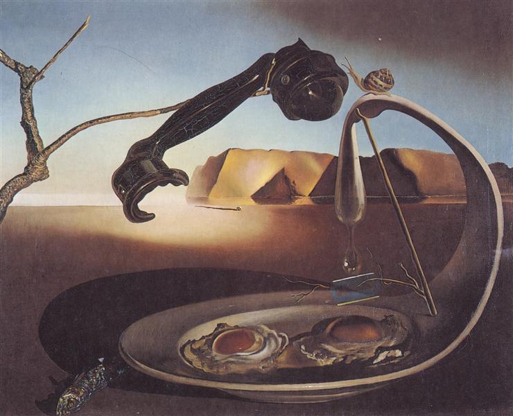 The Sublime Moment, 1938 - Salvador Dali