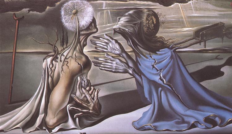 Tristan and Isolde, 1944 - Salvador Dali