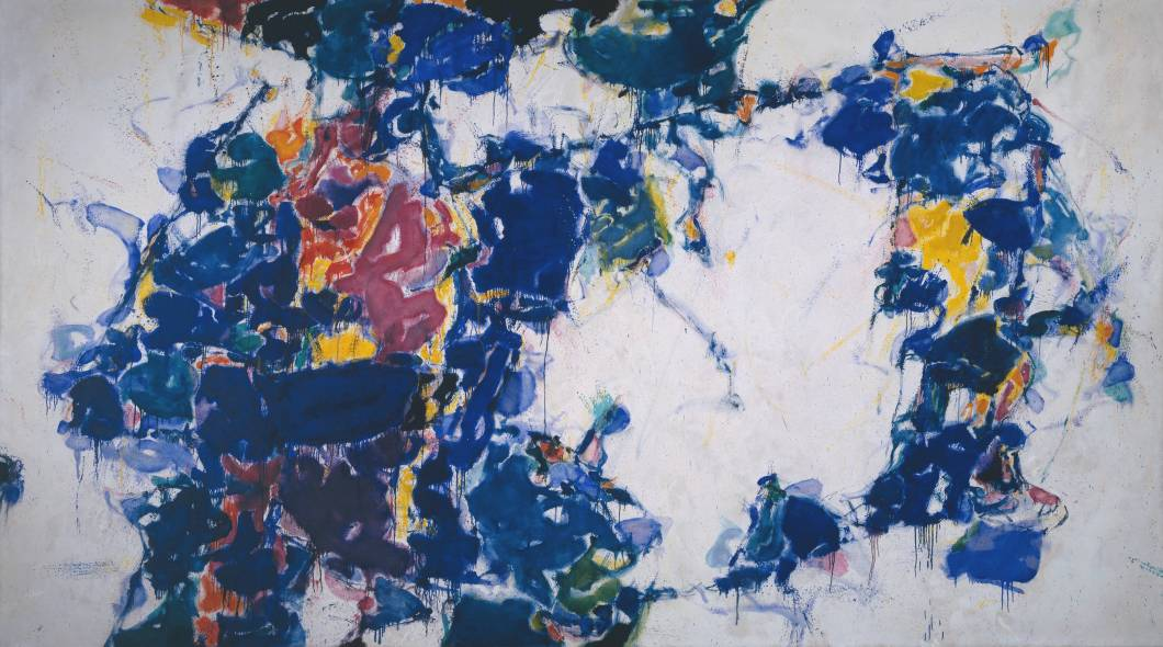 Around The Blues 1957 1962 Sam Francis Wikiart Org