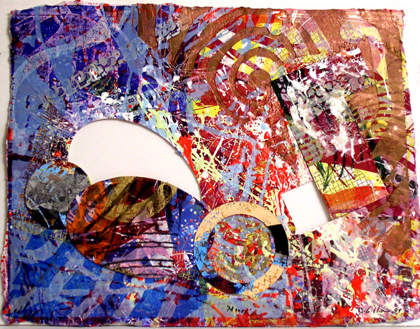 Manet I, 1999 - Sam Gilliam