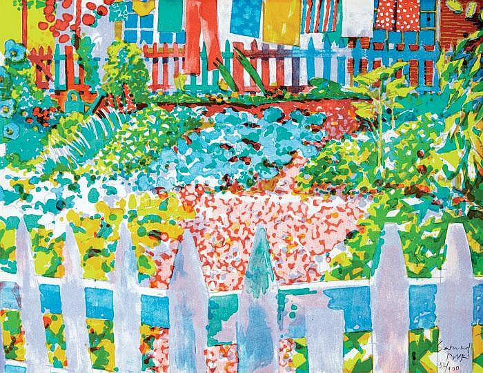 Bauerngarten - Самуэль Бури