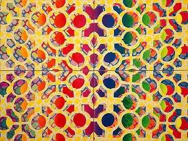 Grille en quatre, 1968 - Samuel Buri