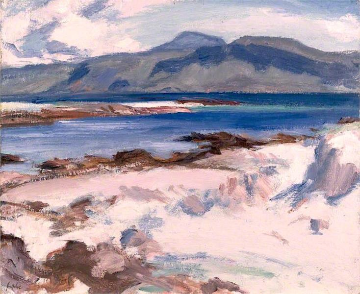 Blue Sea, Iona, 1927 - Samuel Peploe