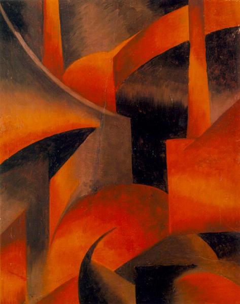 Red Factory, 1919 - Sandor Bortnyik