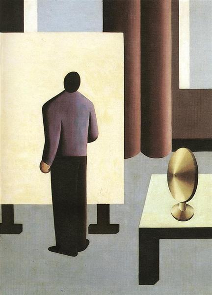 The Painter, 1932 - Sandor Bortnyik