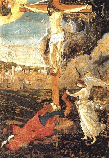 Crucifixion, 1497 - Sandro Botticelli