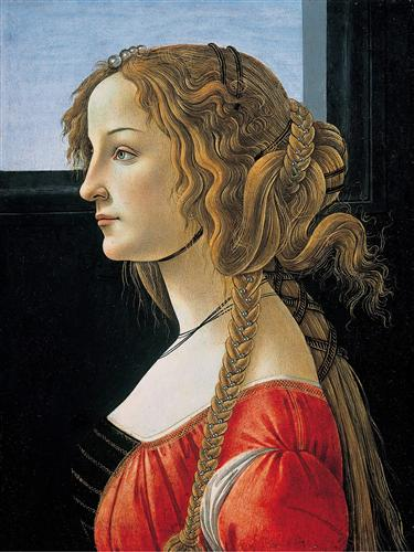 PortraitofSimonettaVespucci - Sandro Botticelli