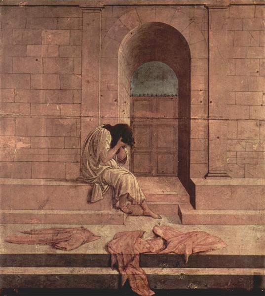 The outcast, c.1496 - Sandro Botticelli