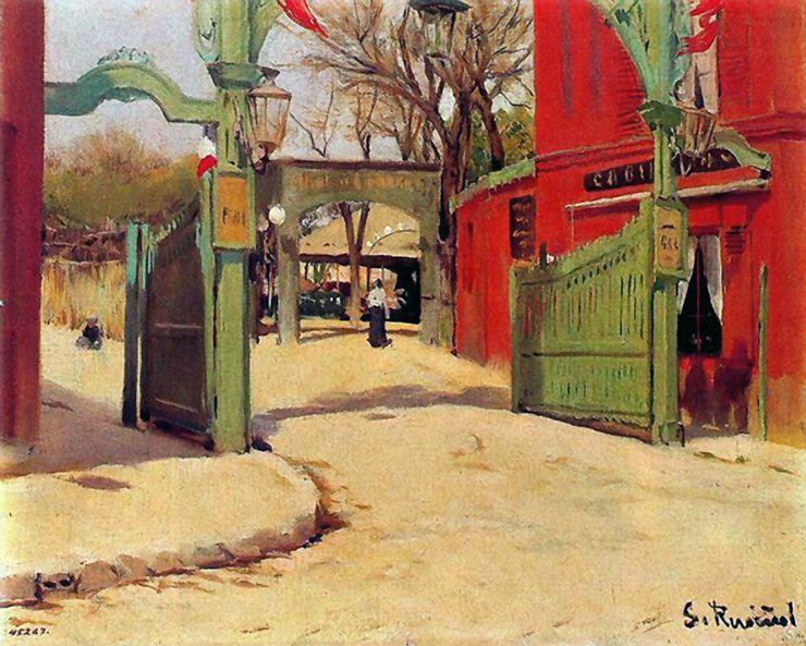 Moulin de la Galette, 1891 - Santiago Rusinol