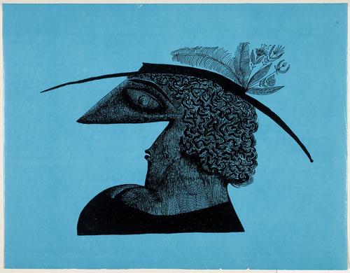 Head, 1929 - Saul Steinberg