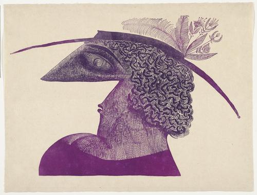 Head, 1945 - Saul Steinberg