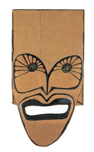 Mask, 1965 - Saul Steinberg