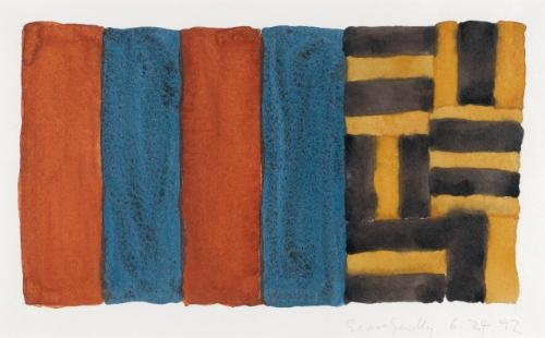 Untitled (6.24.92), 1992 - Sean Scully