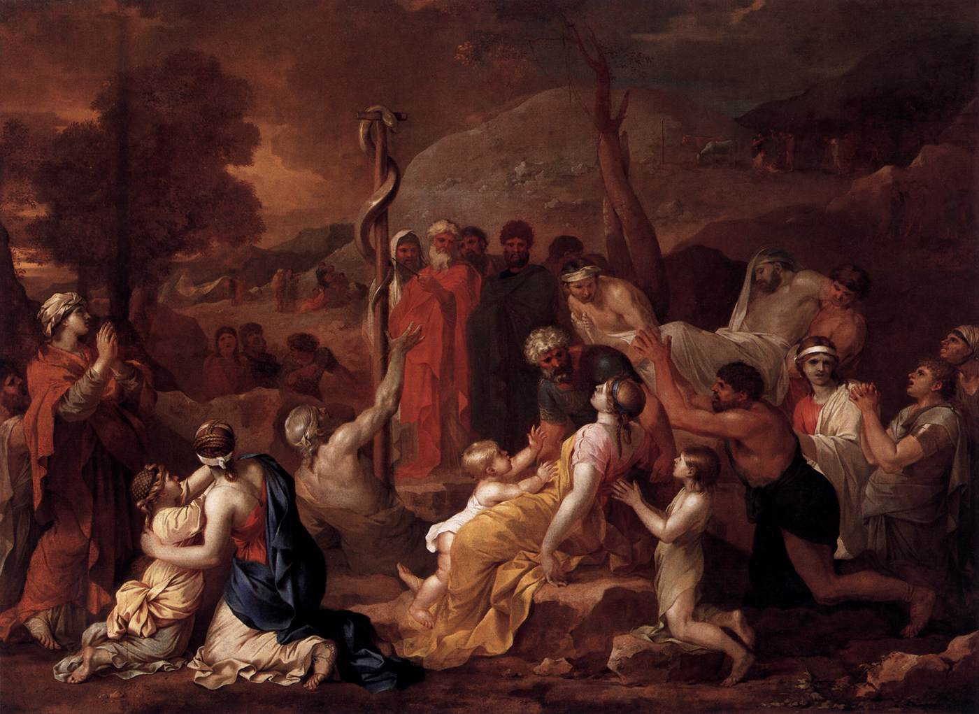 Moses and the Brazen Serpent, 1654