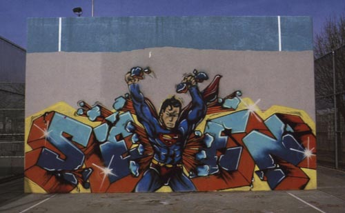 Superman Piece, New York - Seen