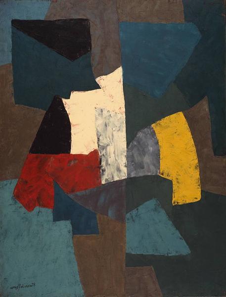 Abstract Composition, 1954 - Серж Поляков