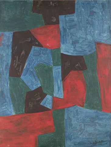 Composition abstraite, 1958 - Serge Poliakoff
