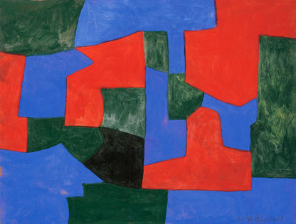 Composition abstraite, 1959 - Serge Poliakoff