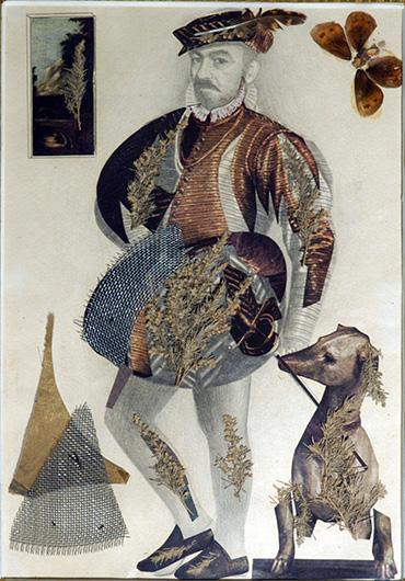 Self-portrait in Gothic style - Sergei Parajanov