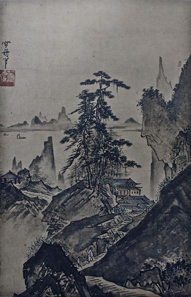 Landscape - Sesshu Toyo