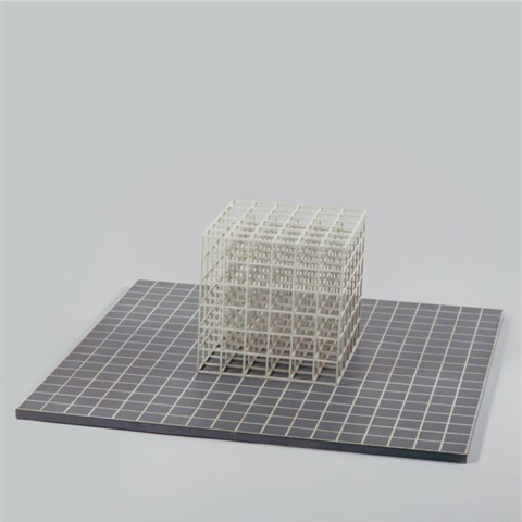 Modular cube. Base, 1967 - Сол Ле Вітт