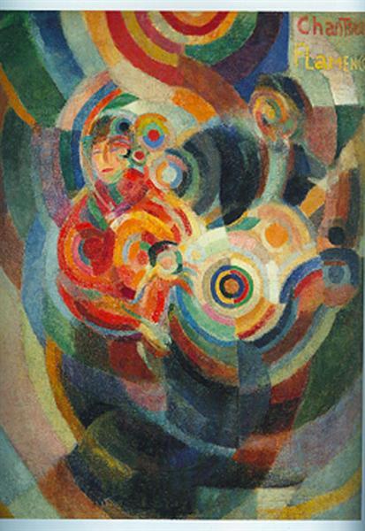 Flamenco Singers, 1916 - Sonia Delaunay