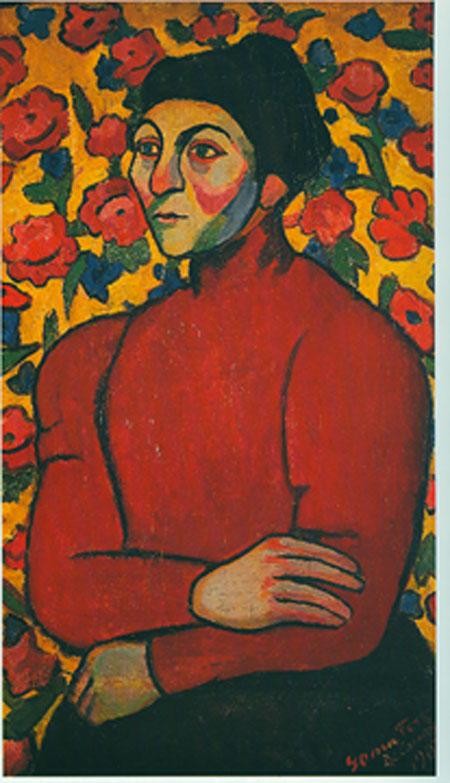 Philomene, 1907 - Sonia Delaunay - WikiArt.org