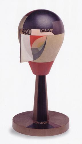 Dada Head, 1920 - Sophie Taeuber-Arp