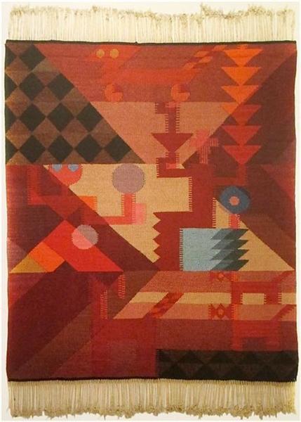 Untitled, 1918 - Sophie Taeuber-Arp