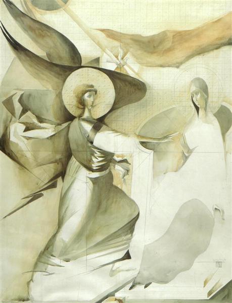 The Annunciation (Study 2) - Сорин Думитреску
