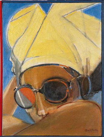 Girl in Sunglasses - Stanley Pinker