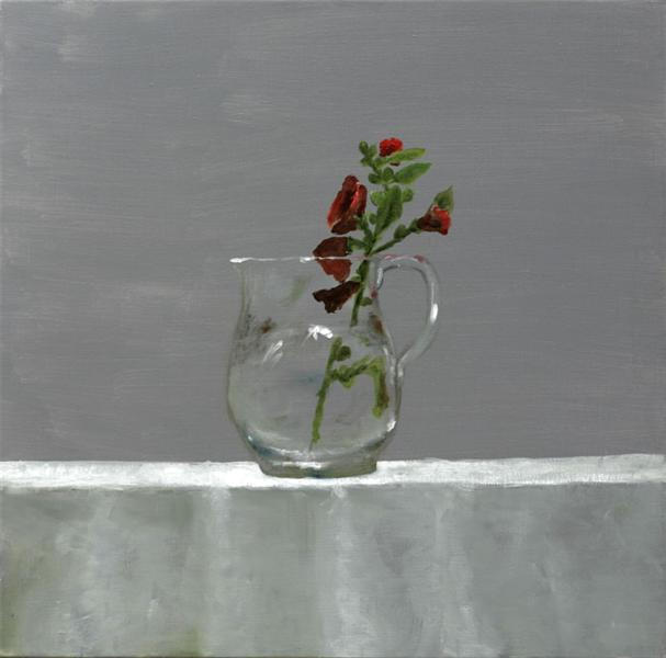 Country Mallows in Glass Vessel, 2005 - Stefan Caltia