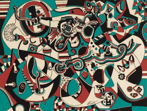 Prelude in Red, 1947 - Steve Wheeler