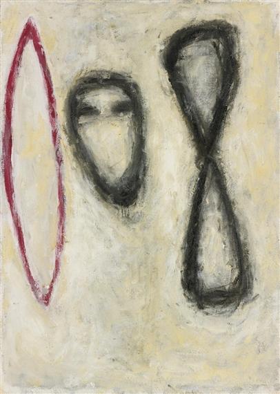 Triple Form, 1982 - С'юзен Ротенберг