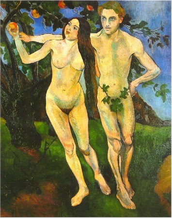 Adam and Eve - Suzanne Valadon